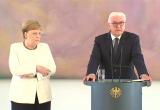 Меркель вновь стало плохо на официальной встрече (видео)