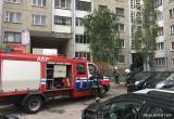 В Бресте загорелась многоэтажка