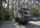Немец проехал по Беларуси на автодоме за сотни тысяч евро