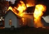 В Бресте загорелся частный дом