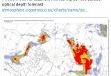 Пожары в Арктике видны из космоса