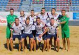 Сборная Беларуси обыграла французов в матче Евролиги по пляжному футболу