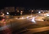 В Бресте столкнулись автомобиль Департамента охраны МВД и такси. (Видео)