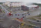 Машина сбила девочку на светофоре в Бресте (видео)