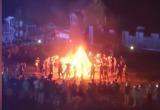 Неофашисты устроили под Киевом шабаш (видео)