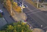 В Бресте на светофоре сбили человека (видео)