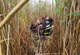 Пенсионер застрял посреди озера в Березовском районе: на помощь пришли спасатели