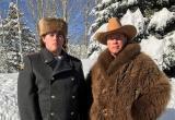 Арнольд Шварценеггер показал сына в российской полицейской форме