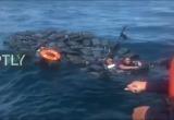 Наркоторговцы плавали на пакетах с кокаином по Тихому океану (видео)