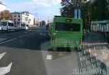 В Бресте ищут очевидцев странной аварии (видео)