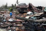 Новые жертвы тайфуна в Японии. Число погибших увеличилось в десять раз за сутки