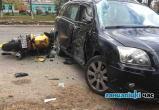 В Ганцевичах мотоциклист врезался в легковушку: три человека пострадали (видео)