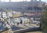 В Киеве неофашисты устроили марш «Нет капитуляции» против Минских соглашений