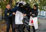 В Минске анархисты провели акцию в поддержку сирийских курдов