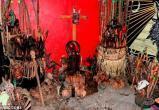 Наркоторговцы создали алтарь из человеческих черепов в Мексике