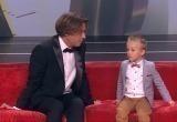 Четырехлетний мальчик из Гродно рассказал Галкину, что у него есть жена и ребенок