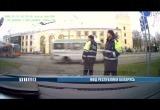 Видео: погоня ГАИ за пьяным бесправником в Гомеле