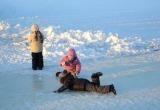 Трое детей провалились под лед в Барановичах