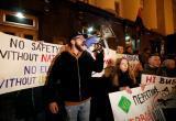 Акция «Стояние на Банковой»: украинцы установили палатки возле Офиса президента