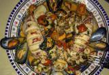 7 невероятных рецептов фаршированных кальмаров