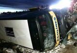 Подробности аварии автобуса из Беларуси под Псковом (видео)