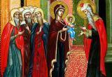 Православные верующие празднуют Обрезание Господне