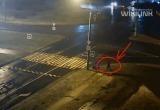 В Бресте на переходе сбили женщину: жуткая авария попала на видео