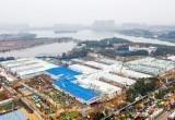 В Китае за 10 дней построили больницу (видео)