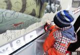 Какие поздравления с 23 февраля оставили брестчане на плакате «Уголок пожеланий на Советской, Брест»?