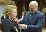 Лукашенко вручил орден «самому близкому человеку»