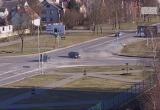 Гонщик на Audi в Кобрине врезался в Mercedes и перевернулся (видео)