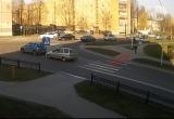 В Пинске ребенка сбили на пешеходном переходе (видео)