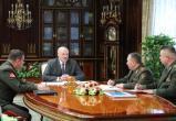 Лукашенко рассказал силовикам, как реагировать на учения НАТО (видео)