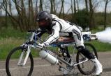Велосипедист обогнал «Феррари» на гонке (видео)