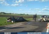 Водитель погиб в лобовой аварии в Пинском районе (видео)