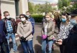 Медики сорвали съемки БТ в Бобруйске (видео)
