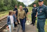Брестчанин заблудился в лесу с четырьмя детьми
