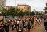 В Минске на акции протеста вышло около 2 тысяч человек, протоколы составили на 115 из них