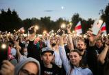 Около 63 тысяч человек пришли на митинг Тихановской в Минске