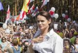 На митинг Тихановской в Бресте пришли 18 тысяч человек (видео)