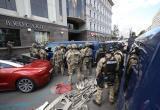 Захватчика банка в Киеве задержали: видео штурма