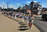 В Беларуси люди вновь стали выстраиваться в цепи солидарности
