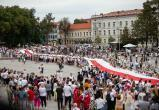 В Литве 50 тысяч человек выстроились в цепь солидарности до границы с Беларусью