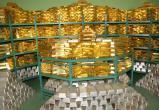 Золотой запас Беларуси в августе сократился на 1,4 млрд долларов