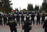 Нагрузка на сотрудников МВД выросла из-за протестов