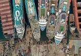 Фото: Кладбище круизных лайнеров