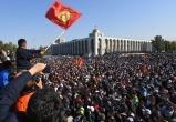 Протестующие прорвались в здание правительства Киргизии