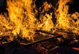 Три машины сгорели в гараже под Брестом