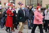 На марше пенсионеров в Минске силовики использовали слезоточивый газ