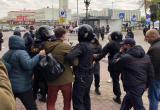 МВД: на протестах в воскресенье задержали 280 человек